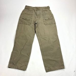 Womens SZ 14 33x30 Cabelas 7-Pocket Hiker Pants Ca